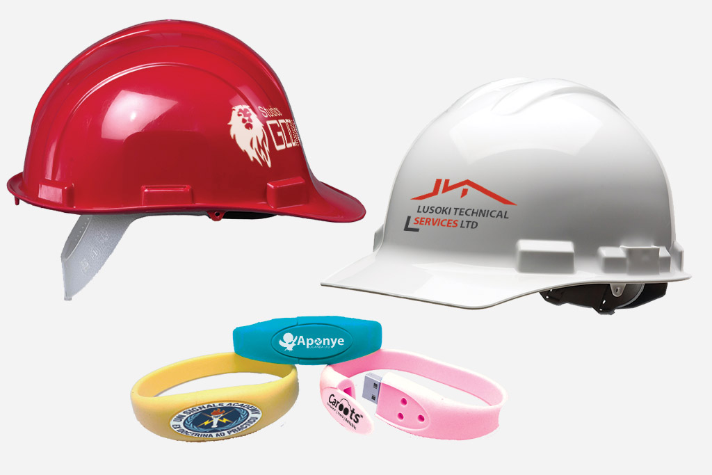 Helmets and Wrist Bands