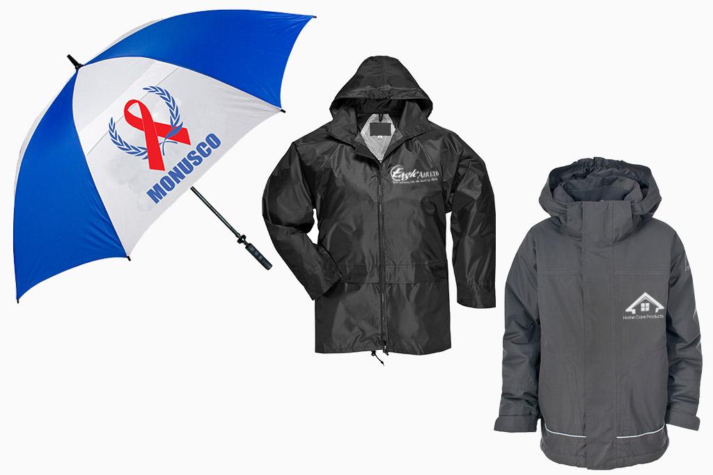 Umbrellas & Rain Coats